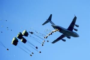 Airdrop (Image: TS J Harper/USAF)