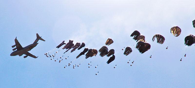 Airdrop (Image: Spc G Hunt/Wikimedia)