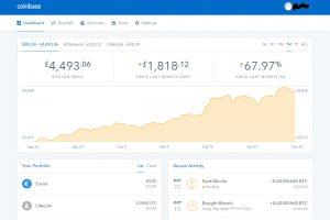 Coinbase Send Pending (Image: Bitcoin Investors UK)