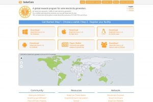 SolarCoin Website (Image: Bitcoin Investors UK)