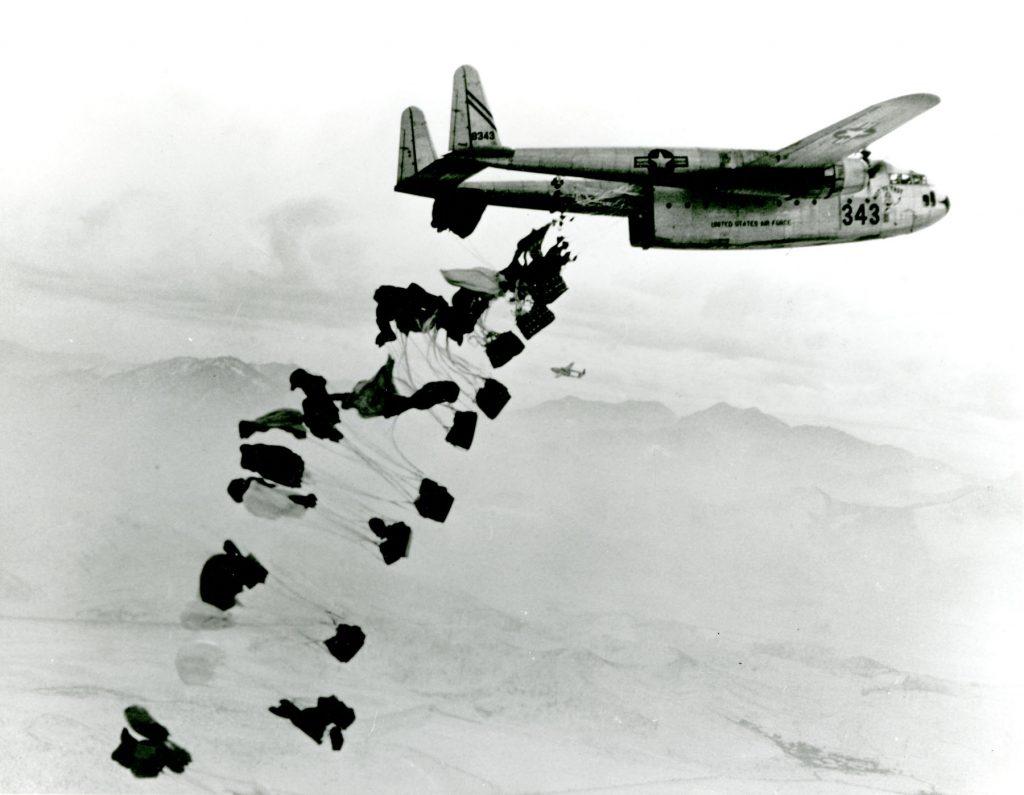 Airdrop (Image: NMUSAF/Wikimedia)