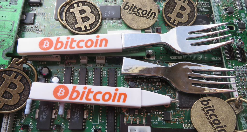 Bitcoin Fork Pens (Image: BTC Keychain/Flickr)