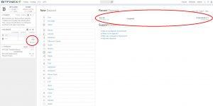 Bitfinex Deposit screen - transaction confirmed (Image: BIUK)