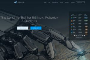 Coinlend Home Page (Image: BIUK)