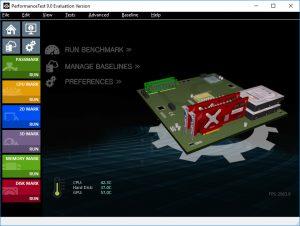 PassMark PerformanceTest Screen (Image: BIUK)